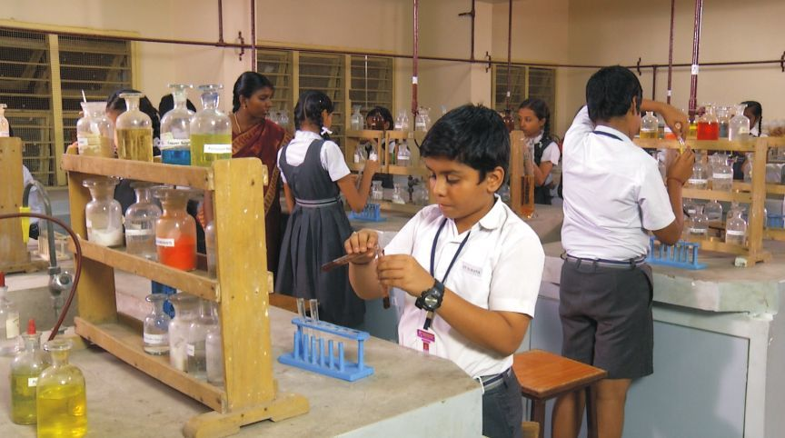 Image result for indian school lab experiments