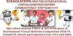 SURANA SCHOOL WON THE INTERNATIONAL VIRTUAL ROBOTICS CONTEST CONSECUTIVELY 8th YEAR !!!!!!!